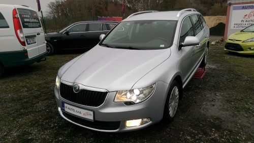 Škoda Superb 2.0TDi 125kW Elegance,Xen,Temp,Tažné,STK 12/202
