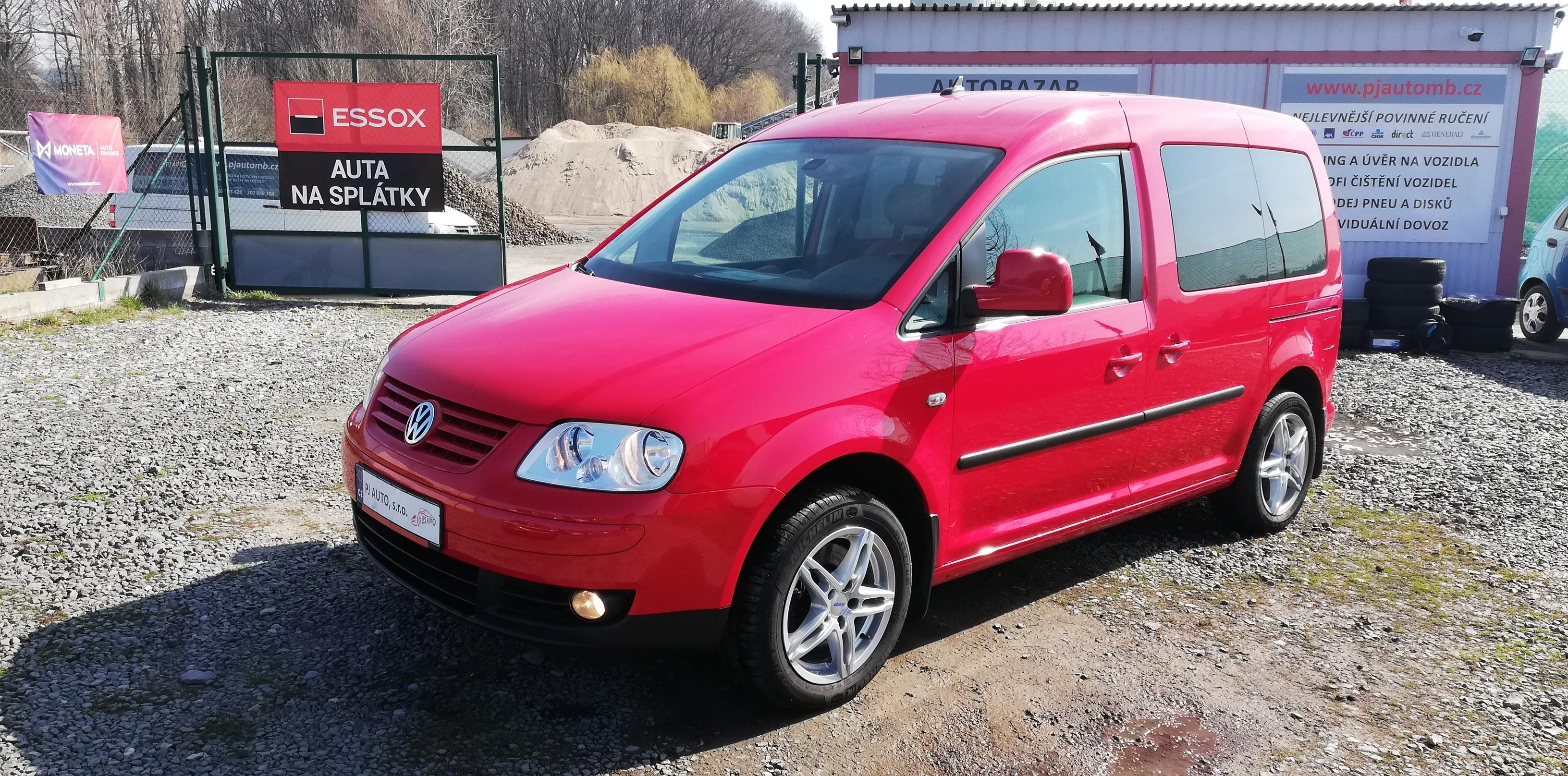 Volkswagen Caddy Life 2.0TDi,Navi,ALU,Digi Klima,1maj.110tkm
