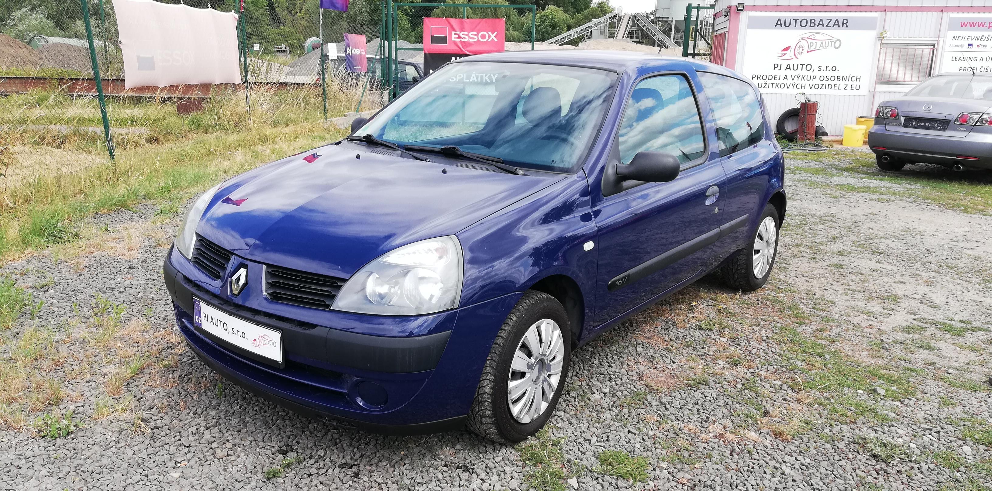 Renault Clio 1.216V 55kW Campus, Klima,Servo,el. okna