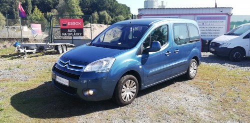 Citroën Berlingo 1.6i 66kW Multispace,AAC,Temp,1majitel