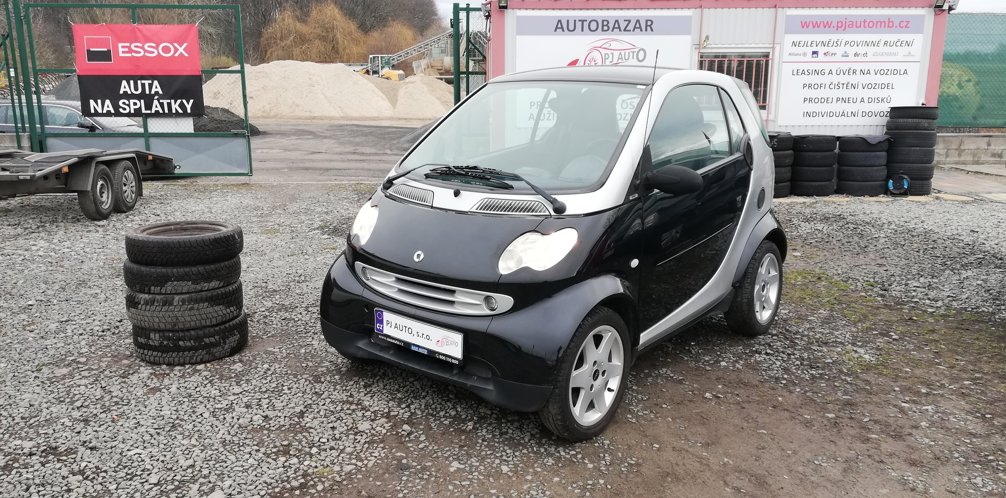 Smart Fortwo 0.6i Turbo 45kW Pulse,Panorama,Alu+sada zim.pne